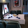 Amtrak Cresent  Dining Car :