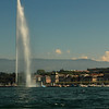Geneva Switzerland,  East Bank : A walk up to St Peters Cathedral in Geneva old town