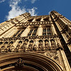 London, a walk around Westminster palace :
